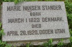 Marie Hansen Stander