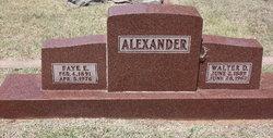 Faye Ella <I>Halle</I> Alexander