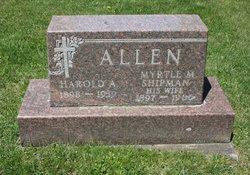 Myrtle M. <I>Shipman</I> Allen