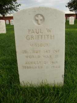 Lieut Paul W Griffith