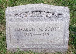 Elizabeth M <I>Cates</I> Scott