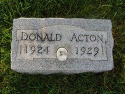 Donald Acton