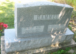 Dorothy <I>King</I> Hammel