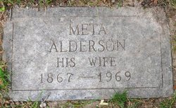Meta <I>Alderson</I> Wurm
