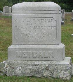 Sarah A <I>Payson</I> Metcalf