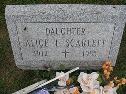 Alice I Scarlett