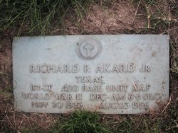 "Richard R ""Dick"" Akard Jr."