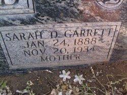 Sarah D <I>Garrett</I> Laird