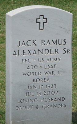 Jack Ramus Alexander, Sr