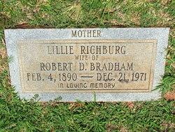 Lillie <I>Richburg</I> Bradham