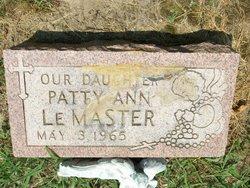 Patty Ann LeMaster
