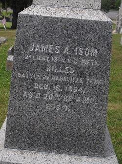 Lieut James A. Isom