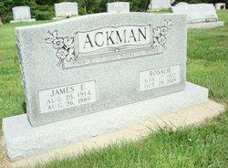 Rosalie <I>Cotner</I> Ackman