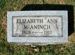 Elizabeth Ann <I>Harding</I> McAninch