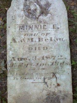 Minnie E. Belau
