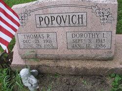 Dorothy L <I>Cover</I> Popovich