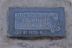 """Eleanor """"Ellen"""" <I>Thomas</I> Allen"""