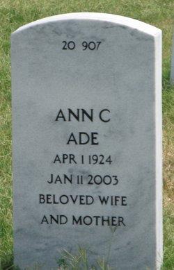 Ann Catherine Ade