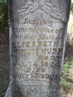 Elizabeth T. McNutt <I>Bush</I> Husk