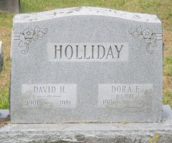 Dora Evelyn <I>Phelps</I> Holliday