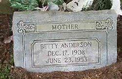 Betty <I>Gray</I> Anderson