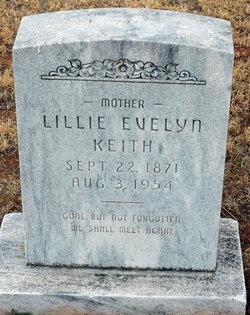 Lillie Evelyn <I>Dearmore</I> Keith