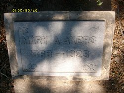 Mary A Akers