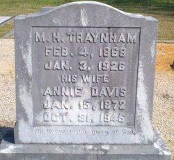 Annie <I>Davis</I> Traynham