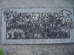 Hannah Isabel Layton