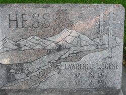 "Lawrence Eugene ""Larry"" Hess"