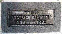 Beatrice Lenore <I>Erickson</I> Martin