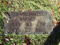 Rev William Dee Barnes