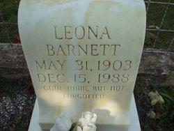Leona L <I>Stubblefield</I> Barnett