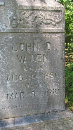 John David Vaden