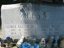 George Balser Hess, Sr