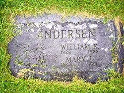 Mary Louise <I>Gunby</I> Andersen