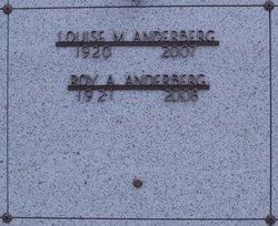 Mrs Louise Mary <I>Brooks</I> Anderberg