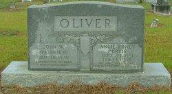 Angie Roney <I>Purvis</I> Oliver