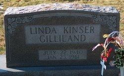 Linda <I>Kinser</I> Gilliland