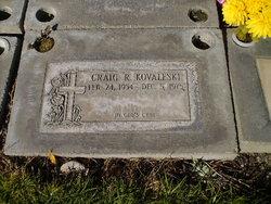Craig R Kovaleski