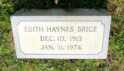Edith <I>Haynes</I> Brice