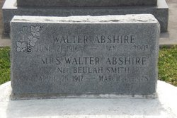 Walter Abshire