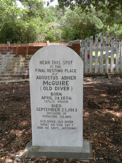 Augustus Abner McGuire Gravesite