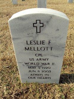Leslie F Mellott
