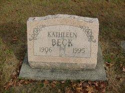 Kathleen <I>Ridge</I> Beck