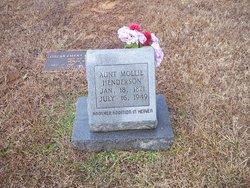 """Mary Susan """"Mollie"""" <I>Forbus</I> Henderson"""