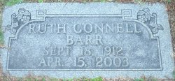 Ruth <I>Connell</I> Barr