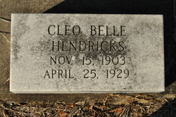 Cleo Belle Hendricks