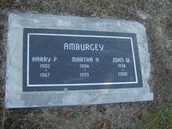Martha Marie Helene <I>Quetu</I> Amburgey