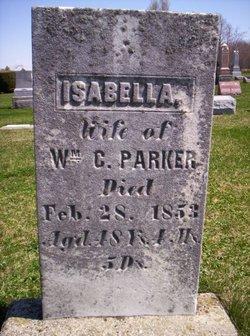 Isabella <I>Neal</I> Parker